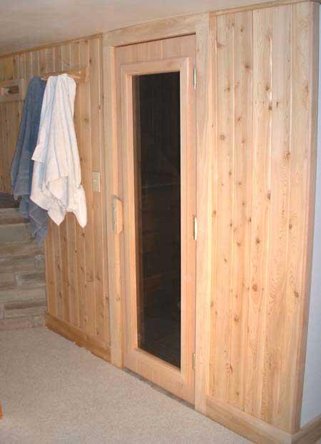 Install sauna in basement kal s basement brewery bar home for Building a sauna in the basement