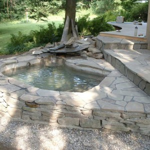Custom dipping pool