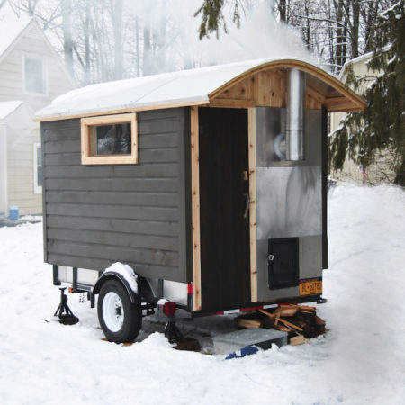 Confessions of a Sauna Builder: My New Trailer Sauna